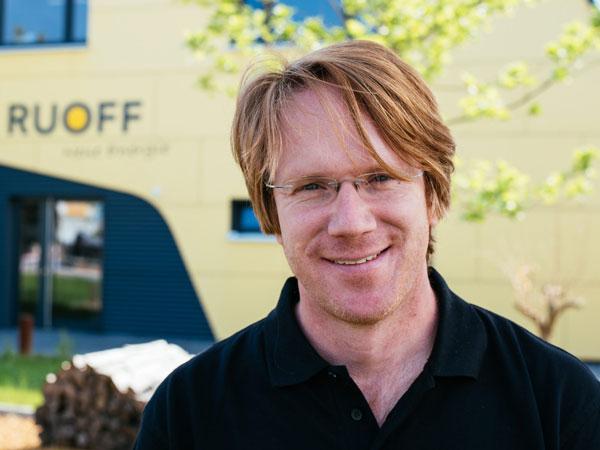Jakob Sierig, Geschäftsführung von Ruoff Energietechnik