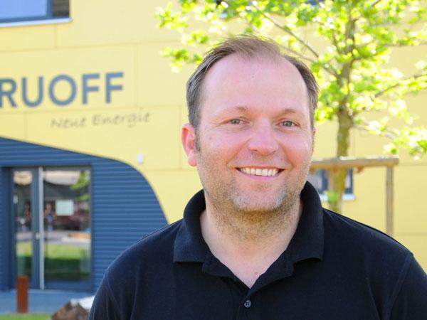 Karsten Lindner, Geschäftsführung von Ruoff Energietechnik