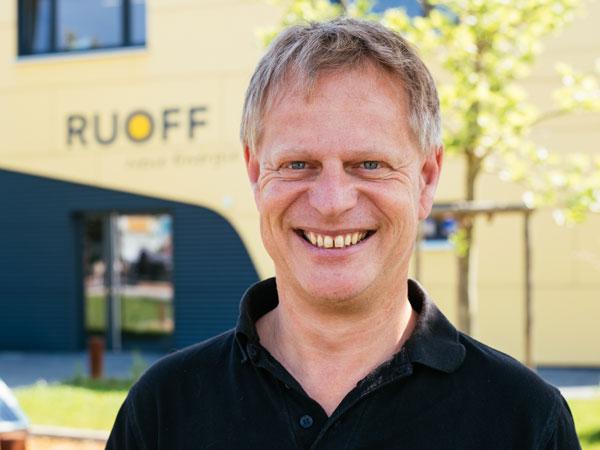 Uli Ruoff, Geschäftsführung von Ruoff Energietechnik