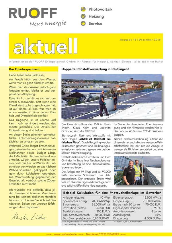 Ruoff Aktuell Ausgabe 18