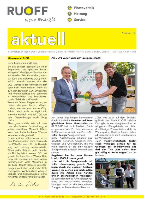 Ruoff Aktuell Ausgabe 19