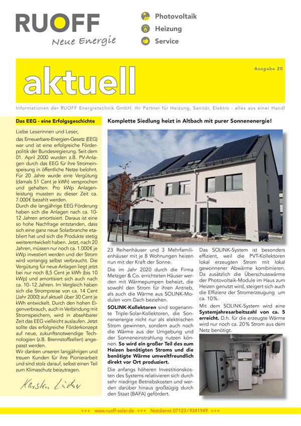 Ruoff Aktuell Ausgabe 20